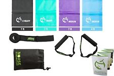 Norse Strengths Resistance Bands Kit 4 Exercise Physical Therapy Stretch $38