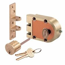 Segal Single Cylinder Deadbolt - Genuine Jimmy Proof Lock - 667