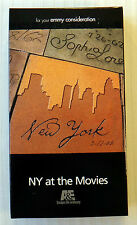 NY at the Movies ~ RARE A&E Emmy Consideration VHS Movie ~ New York Show Video