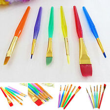 New Cake Icing Decorating Painting Brushes Fondant Sugarcraft Kitchen Tools 6PCS