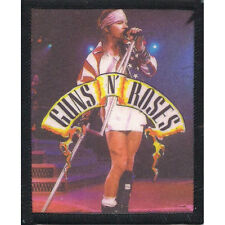 Guns N Roses Men's Axl Rose Screen Printed Patch Black