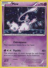 ~Pokemon Ultra Rare Holo Foil Mew Card XY192 HP 70 Black Star PROMO~!