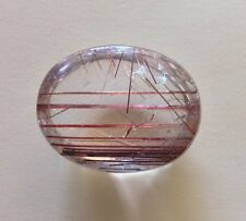 82.15ct AAA Rare Natural Red Tourmaline Rutile Quartz Crystal Gemstone