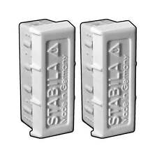 Stabila 20015 Type 80A Level Replacement End Caps 2-Pack