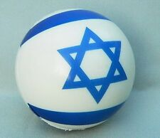 Flag of Israel Squeeze Ball, Hand Wrist Exercise, Jewish Israeli Star of David