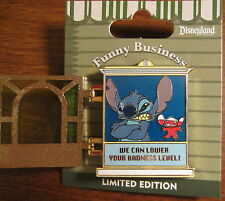 Disney Funny Business Pin 2014 STITCH Anger Management Counselor LE1000 May