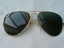 Vintage Ray-Ban B&L Aviator Masterpiece W1904 58 [] 14 Excellent Condition