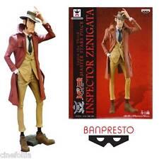 Statua Lupin The Third Master Stars Inspector Zenigata PVC Figure Banpresto