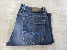 WOMENS ORIGINAL ADO BOOT CUT JEANS INDIGO BLUE W30 L29 Grade C SKU NO K024