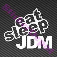 "EAT SLEEP JDM DECAL SIZE 4.7""x4"" VINYL STICKER"