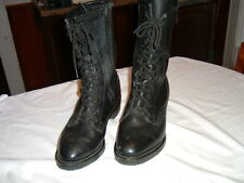 Ladies Harley Davidson Riding Boots  Side Zip/Lace Front  Size 7 M