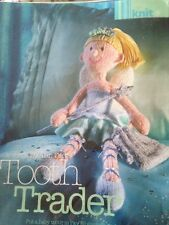 ALAN DART TOOTH TRADER FAIRY SOFT TOY DOLL DK KNITTING PATTERN