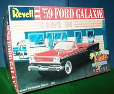 Revell '59 Ford Galaxie Model kit 1:25-Partially built