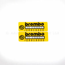 Brembo Temperature Indication Strips x2 for all Brembo calipers used on track