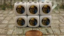 Eddie the Head from Piece of Mind from Iron Maiden Dice Set 6D