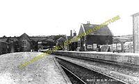 Wiveliscombe Railway Station Photo. Milverton - Venn Cross. Taunton to Dulverton