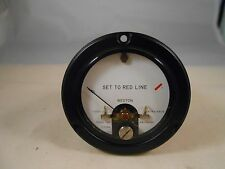 717210-4 DC VOLT METER  SET TO RED LINE  NEW OLD STOCK