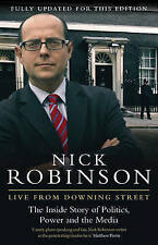 ROBINSON,NICK-LIVE FROM DOWNING STREET  BOOK NEW