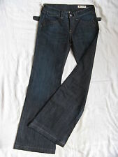 We Are Replay Damen Blue Jeans Stretch W28/L34 x-low waist loose fit flare leg