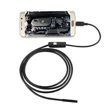 7mm 6 LED Android PC Endoscope Waterproof Inspection Borescope Camera 3.5M
