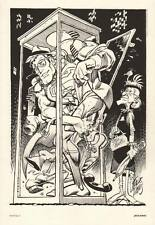 Jack Davis Superman Man of Steel #400 DC Portfolio Art Print / Mad Magazine EC