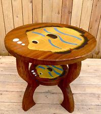 Kindertisch H.44cm Tisch aus Holz für Kinder Sitzgruppe, Holz, gelber Fisch