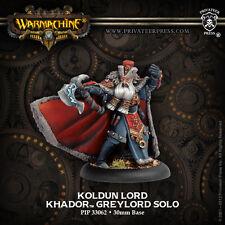 Warmachine BNIB - Khador Solo Koldum Lord