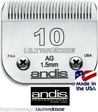 Dog Pet Grooming Andis Ultra Edge AG # 10 Clipper Blade 1/16*Also Fits Oster A5