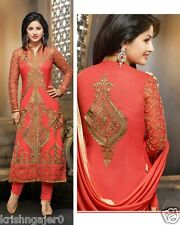 Indian Stylish Designer Bollywood Party Anarkali Salwar Suit Kameez Dress Women