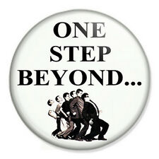 """Madness - One Step Beyond 25mm 1"""" Pin Badge Button Ska British Pop Band"""