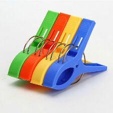 Hanging Towel Clip Lounger Sunbed Pool Plastic Pegs Household Colthing Clip New
