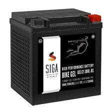 SIGA YIX30L-BS GEL Motorrad Batterie 30Ah 12V Motorradbatterie Harley Davidson