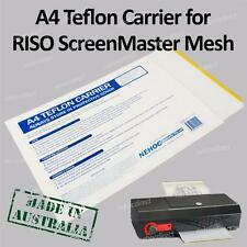 Teflon Carrier for RISO ScreenMaster Mesh in Thermal-Copier, VistaFax, Fordifax