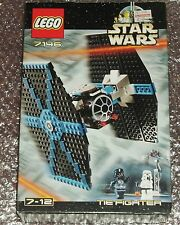 Star Wars Lego 7146 TIE Fighter * 100% Complete * Boxed * RARE