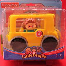 Fisher-Price*Little People* Schulbus* Alter 1-5 Jahre*C4310 Neu/ OVP