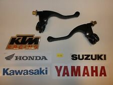 """43-1104 UNIVERSAL CLUTCH AND BRAKE PERCH LEVER SET FOR 7/8"""" BARS RM CR YZ KX"""