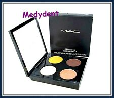 MAC EYE SHADOW x 4 (SHADE DEVILISHLY DARK) QUAD PALETTE 0.19 oz/5.6g NEW IN BOX