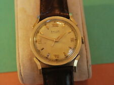 Nice Vintage BAYLOR 10KGF 17J Bumper Automatic Men's Watch w/Fancy Lugs