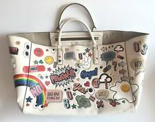 ANYA HINDMARCH Stickers Maxi Ebury Tote Handbag 100% AUTH