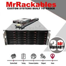 4U Supermicro 24 Bay FREENAS ZFS Server 2x Xeon Quad Core 32GB LSI HBA JBOD