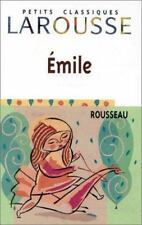 Emile: Extraits (Petits Classiques Larousse) (French Edition), Very Good Books