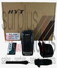 NEW HYT TC320 16CH 400-470MHZ RADIO COMPACT BUSINESS WAREHOUSE RETAIL BAR OFFICE