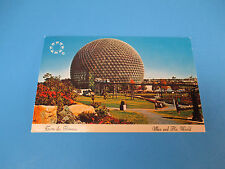 Terre Des Hommes A Man And His World Canada Colorful Postcard Unused PC17