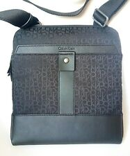 NUOVO Calvin Klein Jeans Men's Cross Corpo Messenger Bag Black