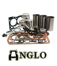 Ford 4600 4610 4630 Tractor Engine Rebuild Kit With Liners New Holland Overhaul