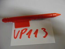 VP 113 gi joe part parts RPV R.P.V. rocket Missile part