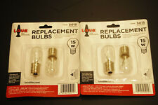 "4 Pack Lava Brand 15 Watt Replacement Bulbs for 10""/8oz & 10.5""/12oz lamps"