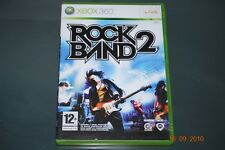 Rock Band 2 Xbox 360 UK PAL **FREE UK POSTAGE**