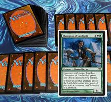 mtg GREEN BLUE SIMIC DECK Magic the Gathering rare card champion of lambholt