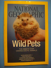 National Geographic Apr 2014: Exotic Pets, Coal Energy, Telescope, Roman Boats